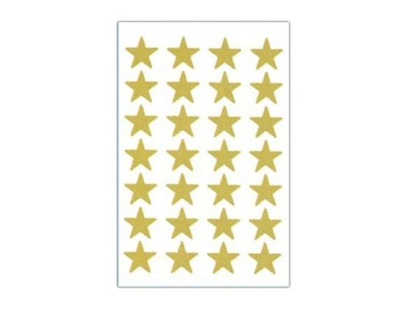 Aufkleber bsb Deco Sticker Sterne gold klein