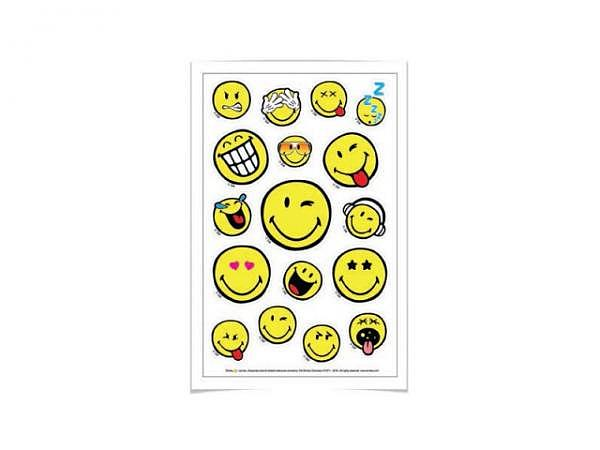 Aufkleber Herlitz Smileyworld, verschiedene Smileygesichter
