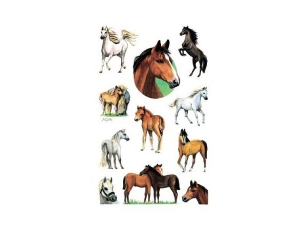 Aufkleber Zweckform Kids, Pferde