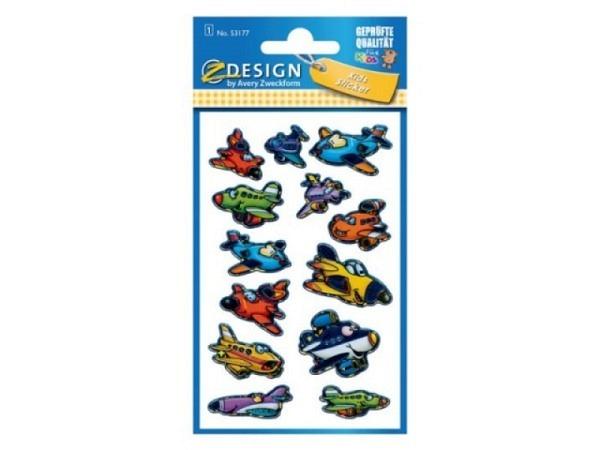 Aufkleber Zweckform Z-Design Kids Flugzeuge