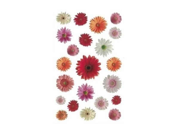 Aufkleber bsb Deco Sticker Blüten, Blisterpackung