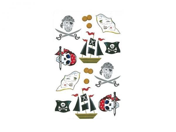 Aufkleber bsb Deco Sticker Piraten, Blisterpackung