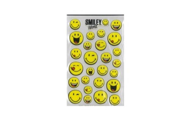 Aufkleber bsb Creative-Sticker Smiley World, smileys in gelb