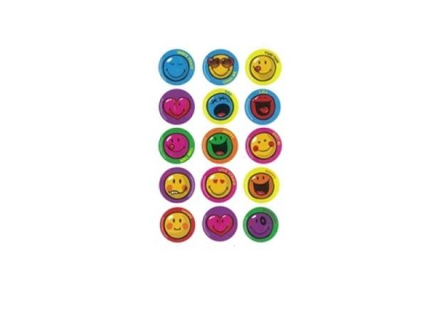 Aufkleber bsb Sticker Smiley World, smileys mit diversen Emotionen