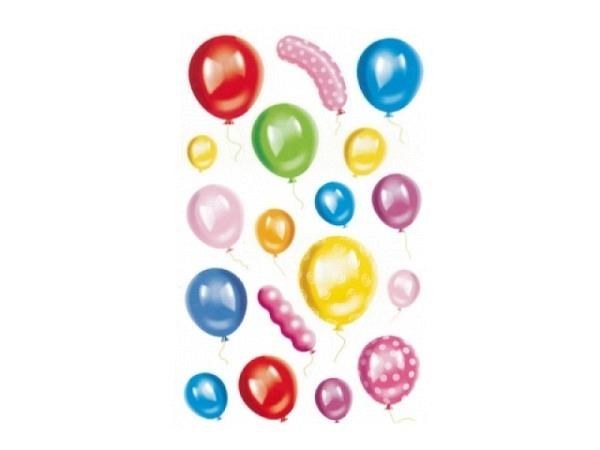 Aufkleber bsb Deco Sticker Ballon, Blisterpackung