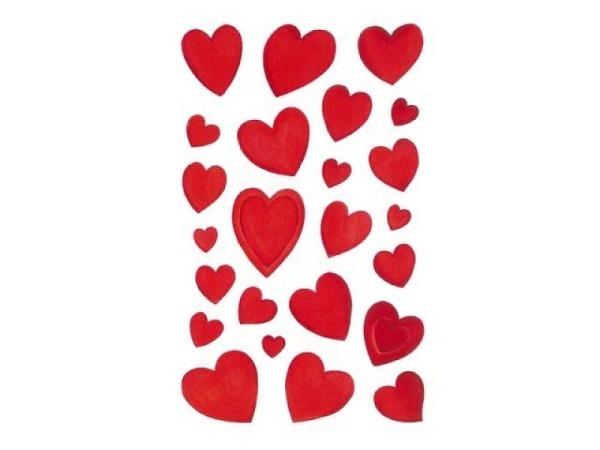 Aufkleber bsb Deco Sticker Herz, Blisterpackung