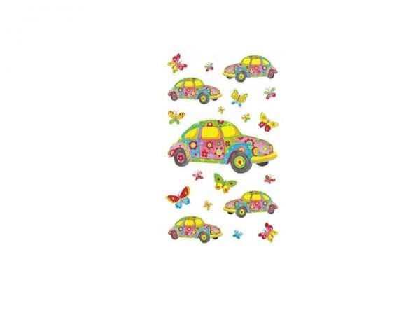 Aufkleber bsb Deco Sticker Hippieauto, Blisterpackung