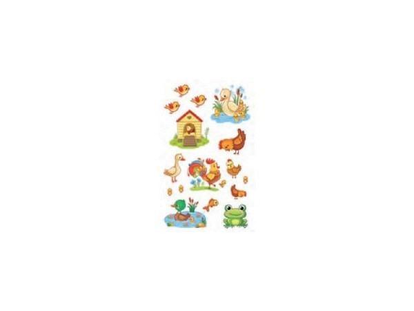 Aufkleber bsb Deco Sticker, filigran verzierte Schmetterlinge