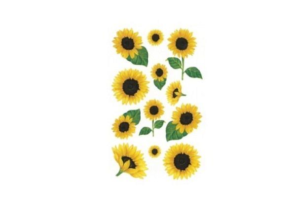 Aufkleber bsb Deco Sticker Sonnenblume, Blisterpackung