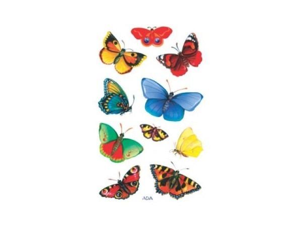 Aufkleber Zweckform Creative Schmetterlinge leuchtend