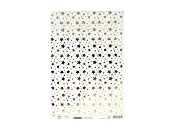 Aufkleber Artoz Creamotion 21x30cm kleine Sterne gold