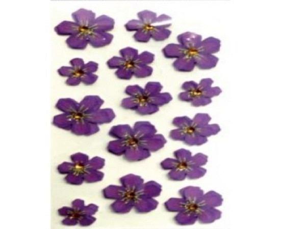 Aufkleber Artoz Artwork Blumenblätter violett 15St violett