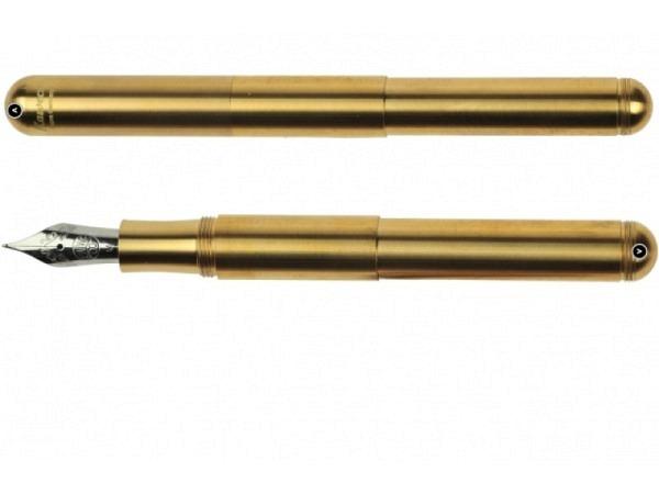 Füllfeder Kaweco Supra Brass M, schweres Messinggehäuse