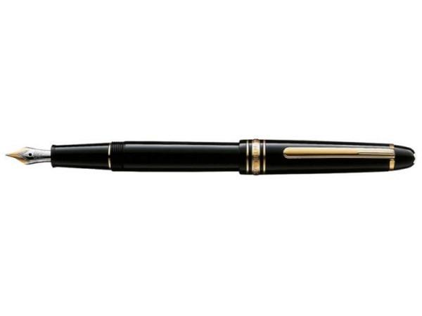 Füllfeder Montblanc Meisterstück Classique Feder F, golden