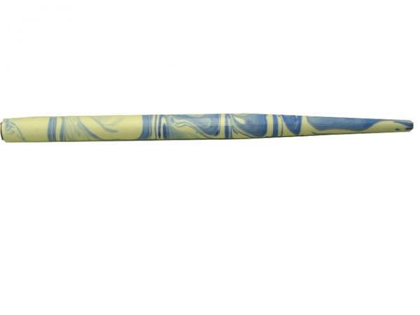 Federhalter Standardgraph Holz blau-weiss marmoriert