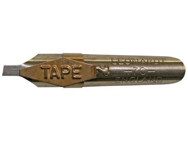 Feder Bandstrichfeder 2mm Leonardt 70, Kalligraphiefeder