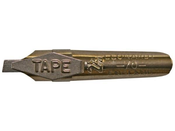 Feder Bandstrichfeder 2,5mm Leonardt 70, Kalligraphiefeder