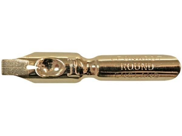 Feder Round Kunstschriftfeder No.1 Leonardt gold
