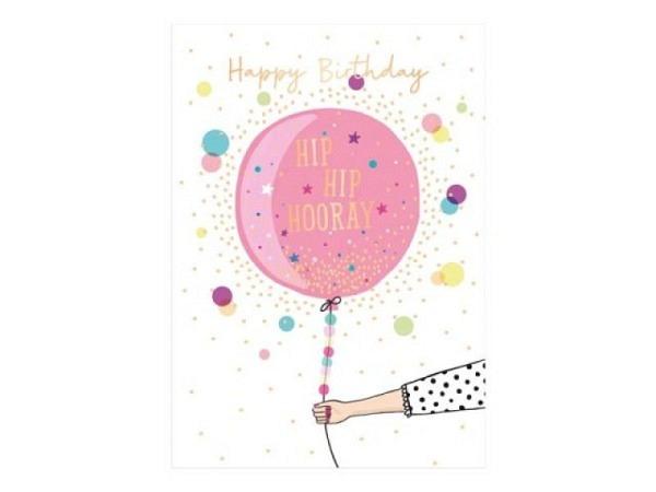 Geburtstagskarte Gollong Zahlengeburtstag 40 Goldglimmer