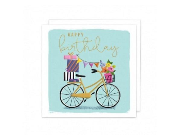 Geburtstagskarte Creative Lab Amsterdam farbige Pflanzen 12x17,5cm