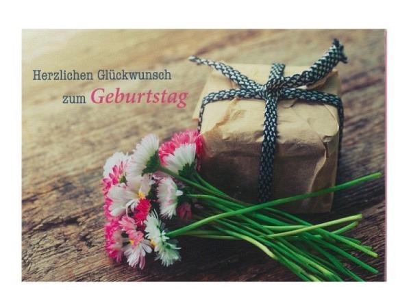 Geburtstagskarte Hartung Strauss Margareten