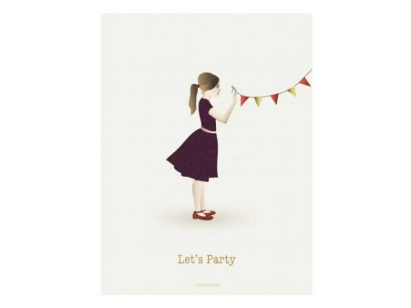 Geburtstagskarte Art Bula 12,2x17,5cm 4 Bilder mit Tulpen