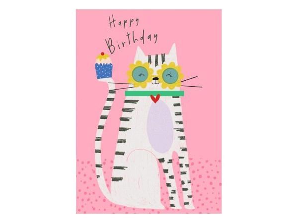 Karte 1730 Happy Birthday 10,5x15cm