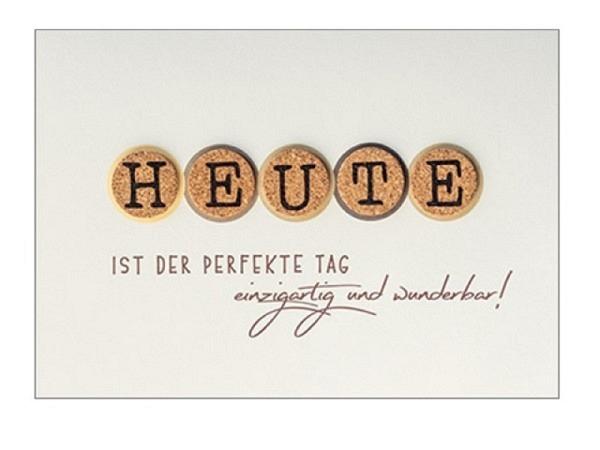 Geburtstagskarte Borer A4 Viel Glück zum Geburtstag
