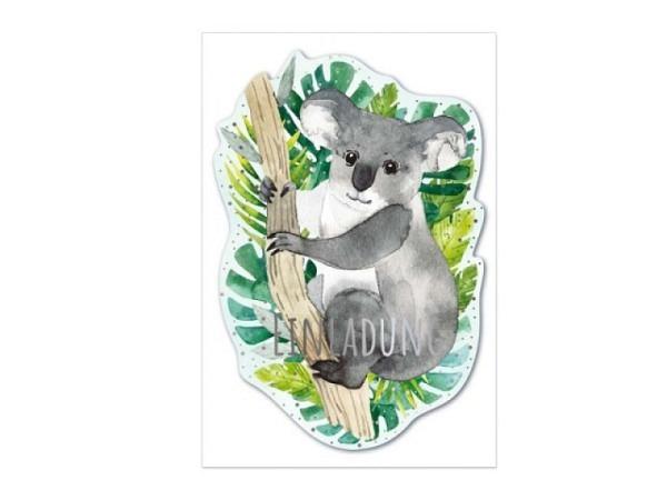 Geburtstagskarte Reiter Bouquet de violettes-Marc Chagall