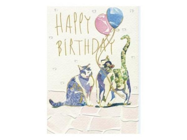 Geburtstagskarte Turnowsky Einhorn 17,6x12,5cm
