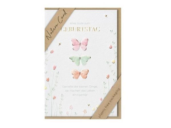 Geburtstagskarte Turnowsky Happy Birthday Aufschrift