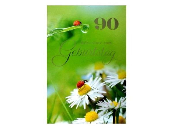 Geburtstagskarte ABC die Spatzen pfeifen