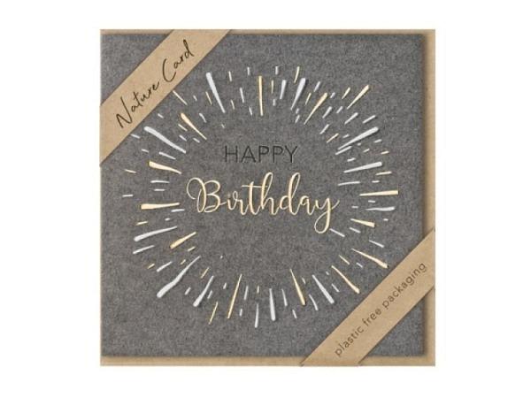 Geburtstagskarte Turnowsky Schildkröte, mit Couvert