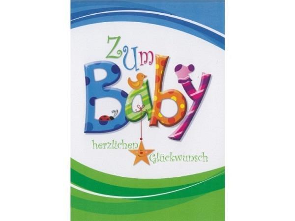 Ereigniskarte Borer A4 Zum Baby