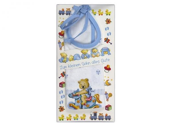 Ereigniskarte AvanCarte Babylätzchen blau