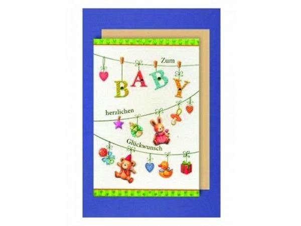 Ereigniskarte AvanCarde  Baby-Girlande
