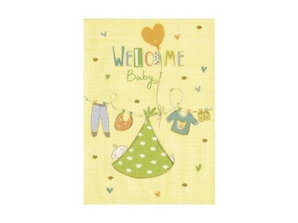 Ereigniskarte Turnowsky 12,5x17,6cm Welcome Baby