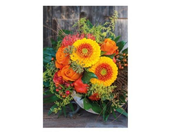 Karte Reiter Anker Albert Mädchen mit Katzem