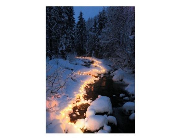 Karte Natur Verlag Winterstimmung Doppelkarte 12,2x17,5cm