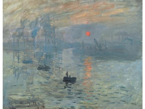 Karte Kunstverlag Claude Monet Impression Soleil levant
