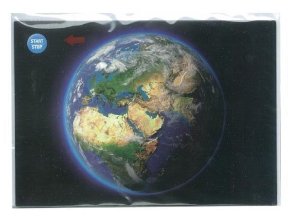 Karte Musikkarte Impressions Die Erde, Karte A5