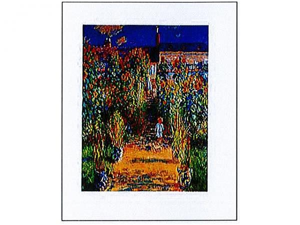 Karte Reiter Cluade Monet Der Garten des Künstlers