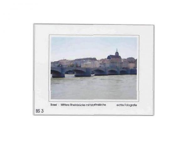 Karte Elite Cards Basel A5 Martinskirche