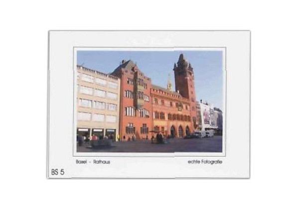 Karte Elite Cards Basel A5 Rathaus