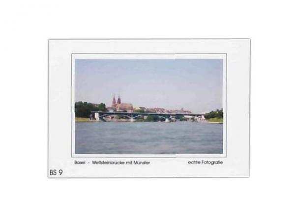 Karte Elite Cards Basel A5 Wettsteinbrücke mit Münster