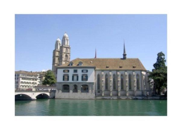 Karte Elite Cards Zürich A5 Wasserkirche mit Grossmünster