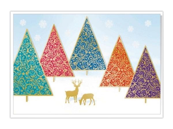 Kartenbox Unicef Deer 11,7x17,3cm