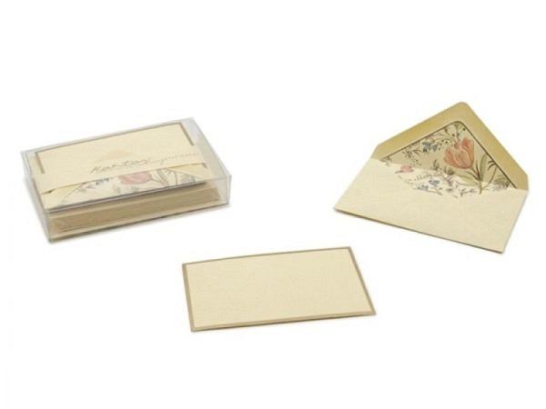 Kartenbox Unicef Birds in the Snow 11,7x17,3cm