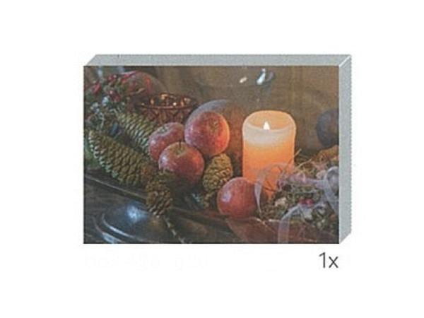 Kartenbox Art Bula 5er Set Weihnachtsdeko mit Kerzen