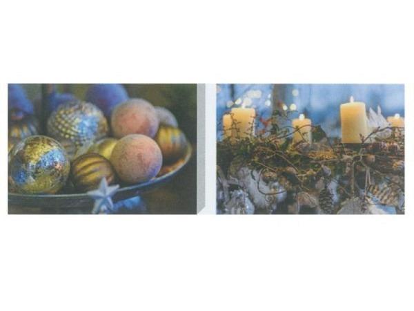 Kartenbox Art Bula 5er Set, 12,2x17,5cm Weihnachten